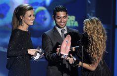 Wilmer Valderrama and Audrina Patridge Photo - Los Premios MTV 2009 - Show
