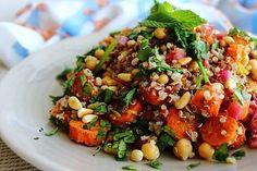 Moroccan Chickpea Quinoa Salad