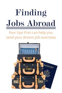 Looking to go back abroad after graduation? Here are some tips for international job searching!