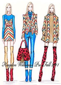 Famous Fashion Designers Sketches These are some some sketches