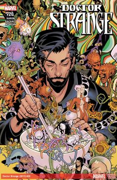 DOCTOR STRANGE (2015) #20  Published: June 07, 2017  Rating: Rated T+  Writer: Jason Aaron   Penciler: Kevin Nowlan, Chris Bachalo   Cover Artist: Chris Bachalo   The culmination of Jason Aaron and Chris Bachalo's first three epic stories is here! Dormammu! Mordo! Mr. Misery! The Empirikul! Wong! Don't miss this remarkable issue!
