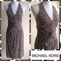 Flash Sale! Micheal Kors Zebra Print Dress