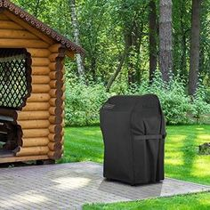 The BBQ grill cover is made of high Oxford polyester hydrophobic fabrics. Gas Grill Cover is a waterproof bbq cover with outer Oxford polyester fabric, UV coating and inter PVC waterproof adhesive for ultimate protection.