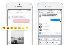 Facebook aggiunge le reazioni e le menzioni in Messenger