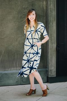 Ethical fashion: the Nova Dress from Bead & Reel