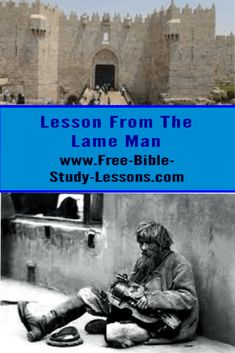 There are a lot of practical lessons we can learn from the story of Peter healing the lame man by the temple gate. Bible Study Lessons, Free Bible Study, Free Bible Commentary, Story Of Peter, Justified By Faith, Names Of Jesus Christ, S Word, Humility, Christian Living