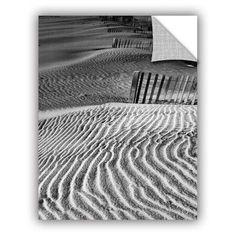 "ArtWall ArtApeelz Dune Patterns by Steve Ainsworth Photographic Print Size: 32"" H x 24"" W x 0.1"" D"