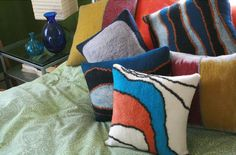 felted pillow - Google Search