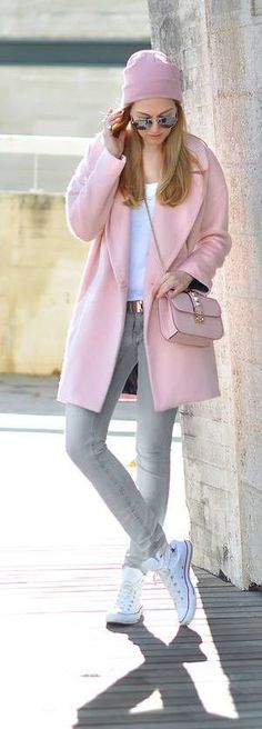 Baby pink for winter