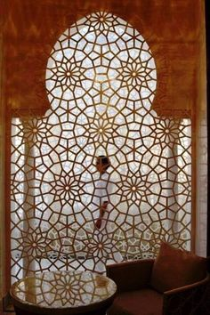 Design archway Moorish and Arabian architecture took geometric design to new heights, Royal Mansour Marrakech Moroccan Design, Moroccan Decor, Moroccan Style, Moroccan Room, Design Marocain, Style Marocain, Marrakech, Islamic Architecture, Art And Architecture