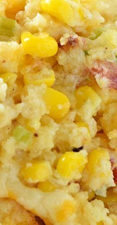 Creamy Bacon Corn Casserole