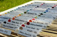 Dream Create Inspire: Cardstock Organization and Storage. I love this idea for organizing paper and the color punch is brilliant!