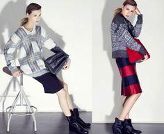 Como una moderna Cenicienta: Falda&Jersey