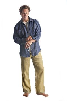 Men's Anywhere Pants - 96 USD - 100% hemp linen pants designed with a stylish cut for use anytime and any occasion.
