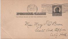 State Aid Postcards c1908 - 12, Lowell, Massachusetts, Genealogy, Mrs. Elizabeth Bailey, Sarah J. Dean, Mary Alexander, fair shape by VintageNEJunk on Etsy