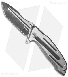"Reate Event Horizon Flipper Knife Titanium (3.5"" Two-Tone)"