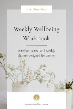Weekly Wellbeing Workbook - State of Liberty Mindfulness Exercises, Mindfulness Practice, Liberty Online, Bedtime Routines, Womens Wellness, Holistic Wellness, Live Happy, Self Care Routine, You Are Invited
