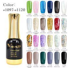 #60751 2016 Hot Sale CANNI Gel Nail Polish Long-Lasting Soak-off Nail Polish Gel Polish 12ml 120 Colors Optional