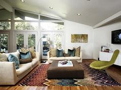 Contemporary Living Room Interior Idea (39)