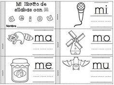 Resultado de imagen para actividades con la letra m para preescolar