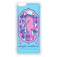 Simply Southern Seahorse iPhone 6 Case