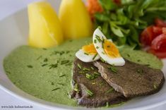 Tafelspitz Sous-Vide mit Frankfurter Grüne Sauce