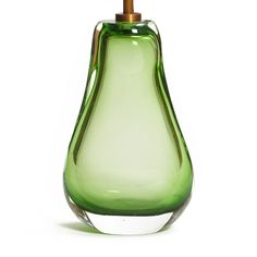 Iris table lamp in green Pooky Lighting, Cleaning Supplies, Iris, Table Lamp, Blown Glass, Bottle, Green, Lamps, Bedroom