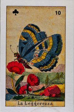 10. La Leggerezza, Sibilla card - Butterfly