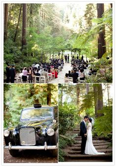 Elegant Nestldown wedding | http://www.100layercake.com/blog/2012/03/10/elegant-nestldown-wedding-christine-andrew/