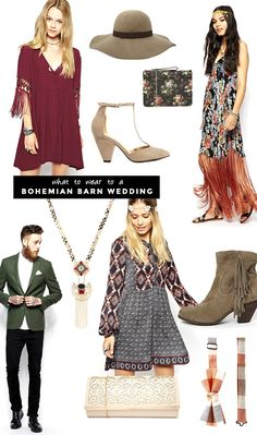 what to wear for guests attending a fall wedding barn weddings boho and weddings, fall barn wedding outfit Rustic Wedding Dresses, Wedding Attire, Wedding Outfits, Wedding Vintage, Wedding Shoes, What To Wear To A Wedding, How To Wear, Winter Barn Weddings, Lock Screen Wallpaper Iphone