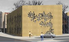 How to create a perforated wall in Archicad