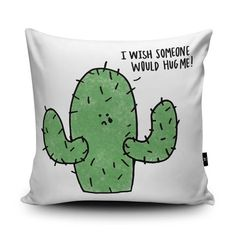 Hug Me Cushion by Leeann Walker