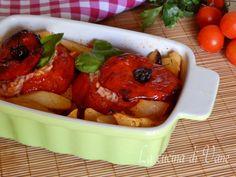 Pomodori di riso e patate alla romana