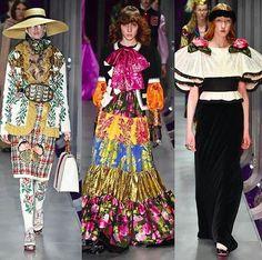 Desfile de outono-inverno 2017 da @gucci nesse primeiro dia de Semana de Moda de Milão. (Foto: @firstviewphoto)  via HARPER'S BAZAAR BRAZIL MAGAZINE OFFICIAL INSTAGRAM - Fashion Campaigns  Haute Couture  Advertising  Editorial Photography  Magazine Cover Designs  Supermodels  Runway Models
