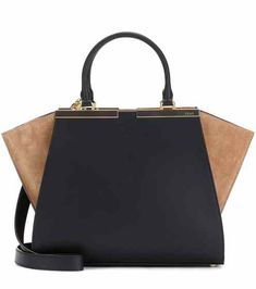 3Jours leather and suede tote | Fendi