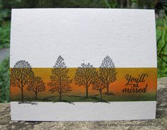 Canopy Crafts: Lovely as a Fall Scene {PP263}