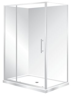 Features  Low profile tray with 40mm upstand Tray is Centre Waste as standard but also available in Corner Waste 1950mm high glass Total OVERALL height 2020mm 6mm safety glass compliant to AS/NZS2208 Safety Standard 2 Panel Sliding Door  Reversible – can open left to right or right to left Extrusions allow for adjustment to wall and floor High quality hardware Available in White and Silva