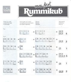 Handleiding Jumbo Rummikub Junior (pagina 1 van 2) (3,1 mb Nederlands)