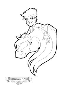 horseland coloring pages - Bing Images