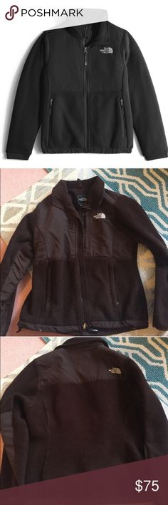 Women's Brown Northface Denali Jacket Good pre worn condition. Personally wore this jacket a lot but it still has a lot of life left in it. Great quality and perfect for any type of weather. Brown color was discontinued awhile ago for women's Denali jackets. All sales final The North Face Jackets & Coats