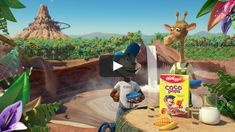 Piranha Bar Re-Imagine Classic Coco Pops Characters in New Kellogg's Campaign Pop Characters, Fictional Characters, Creative Words, Campaign, Animation, Classic, Bar, Marketing, Derby
