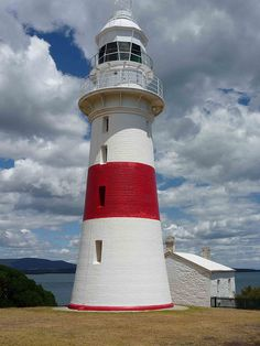 The beautiful Low Head lighthouse is just a short drive from our wedding venue for some maritime inspired wedding party photos. Beacon Of Light, Light In The Dark, Beautiful Buildings, Interesting Buildings, Lighthouse Keeper, Coast Australia, Water Tower, Dark Places, Tasmania
