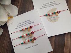 Madre e Hija bracelet set. Hilo rojo de amor por SimplyMpr en Etsy
