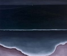 Wave, Night, 1928  Georgia O'Keeffe