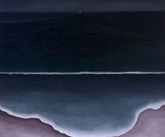 Wave, Night, 1928  Georgia O'Keeffe