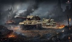 ArtStation - FV 183 & Tortose ( World of tanks Blitz artwork), Sergey Vasnev