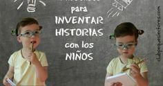 Recopilación de recursos para trabajar la imaginación y la creatividad de los niños a través de un juego muy divertido y con multitud de beneficios: inventar historias