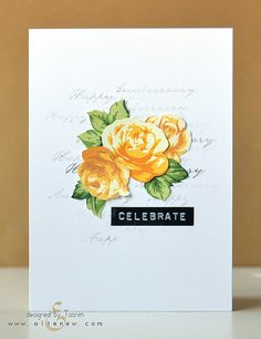 Vintage Roses Yellow   by altenew