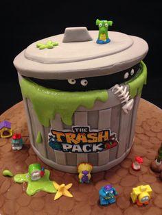 - The Trash Pack cake
