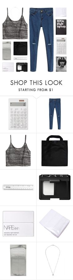 """""""the things that stand in our way"""" by kristen-gregory-sexy-sports-babe ❤ liked on Polyvore featuring Muji, H&M, Black+Blum, NARS Cosmetics and Retrò"""